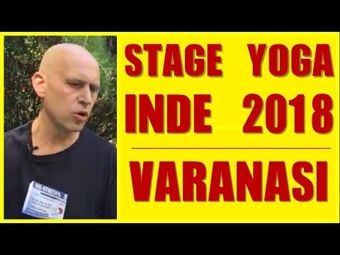 STAGE YOGA  INDE 2018 - VARANASI - LA VILLE SAINTE avec FRANCOIS YOGESH