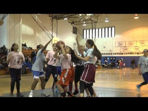 Staten Island Varsity Girls East vs West All Star Game 2016