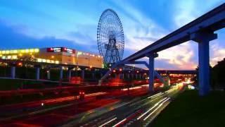 The largest Ferris wheel | Olympus PEN-Lite E-PL6 Time-Lapse Test 日本最大級の観覧車 Osaka Wheel