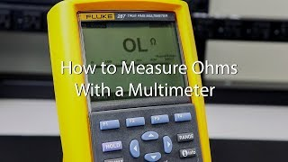 How to Measure Ohms with a Multimeter