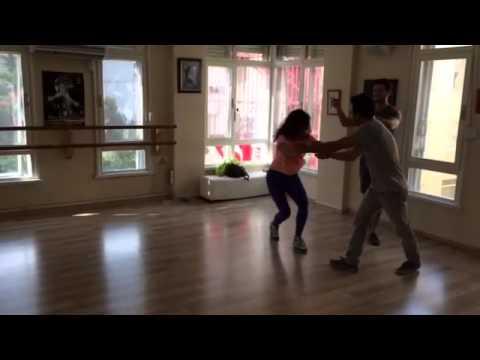 Nilay Kanlıoğlu ve Buğra Gülsoy Bana artık Hicran de 2. Bölüm Dans Provası