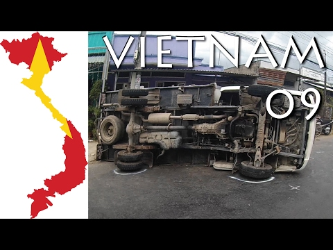 Vietnam - Why Vietnam Roads are Dangerous - Part 09