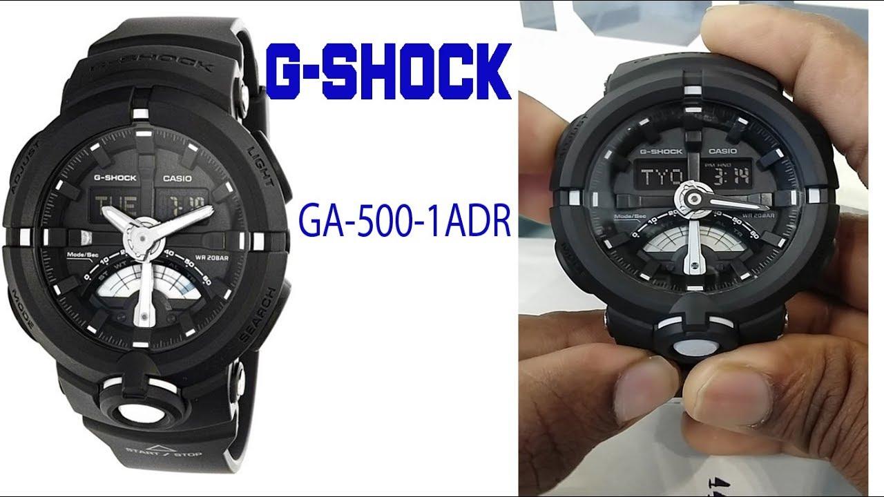 8a6829a0bc0 G-shock GA-500-1ADR