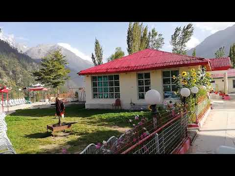 Amazing Kalam Valley view from Hotel Golden Star