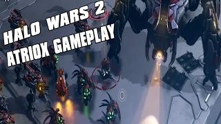 Halo Wars 2 - Atriox Gameplay Scarab Army and Invulnerability