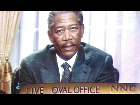 1998 - Deep Impact - The President Announces The Mission Has Failed (Morgan Freeman)