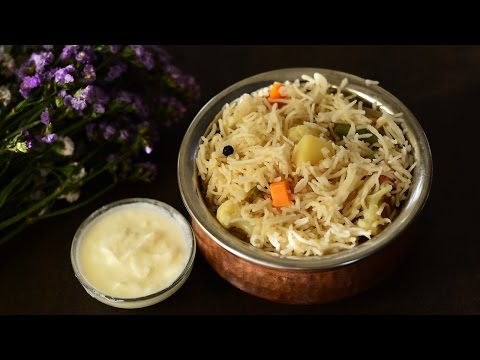 ★ How to make Pulao | Veg Pulao Recipe Restaurant Style | Rice Recipes @ Guru's Cooking