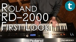 Roland RD-2000 | First Look | Demo