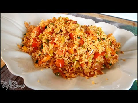 Vegetable Stir Fry Rice Best Recipe For Back To School | Chef Ricardo Cooking