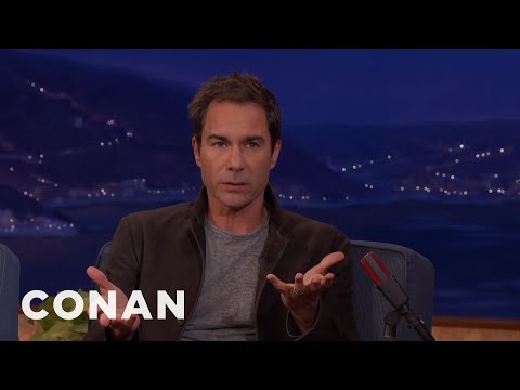 How Eric McCormack Celebrated Canadian Thanksgiving  - CONAN on TBS