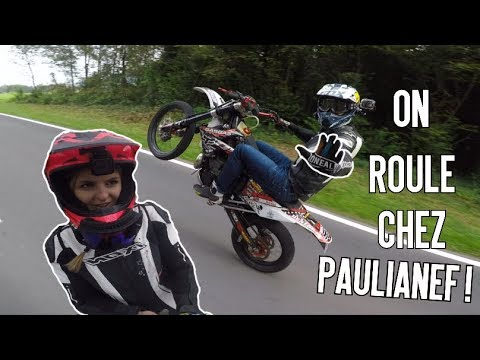 On Roule Avec PaulianeF ! RoadTrip en Suisse - Ep2 Ft SpitBike