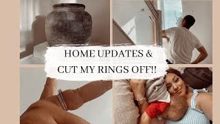 VLOG, HOME RENOVATION & WEDDING RING REMOVAL