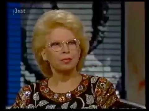 Sylvia Geszty bei Da Capo 3sat interview Part4 of 5