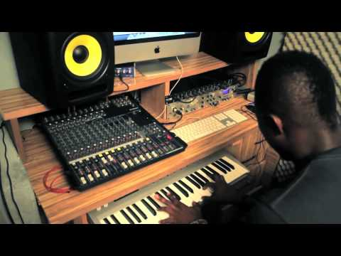 Murder Session with Killbeatz (Making of R2Bees Kiss Your Hand )