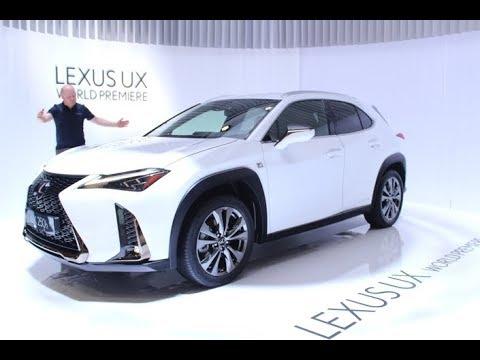 Lexus UX - Salon de Genève 2018