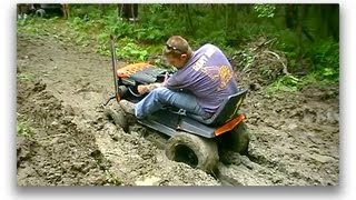 Off Road Lawn Mower Jamboree Pt.3 Deep Mud Run