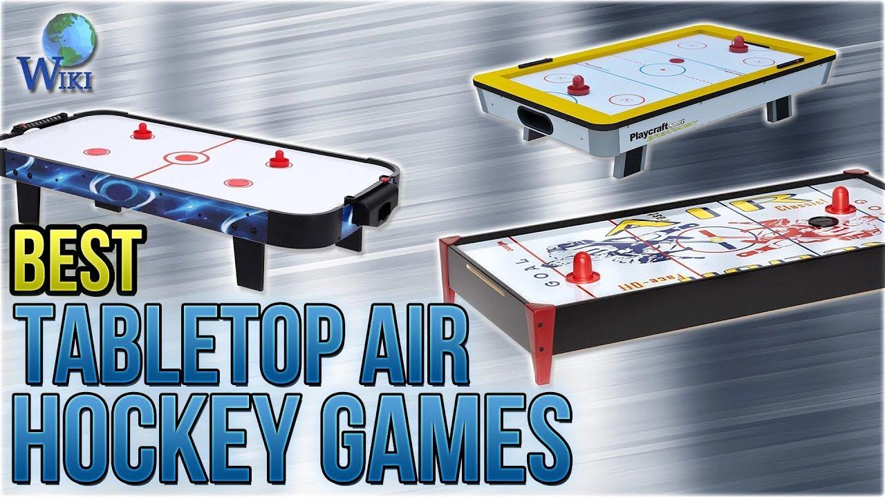 7 Best Tabletop Air Hockey Games 2018 Youtube