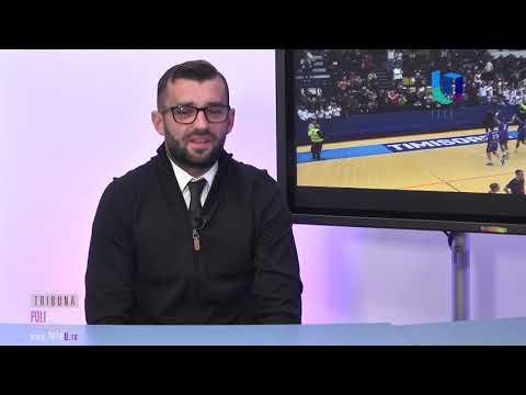 TeleU: Cristian Gălan la Tribuna polisportivă