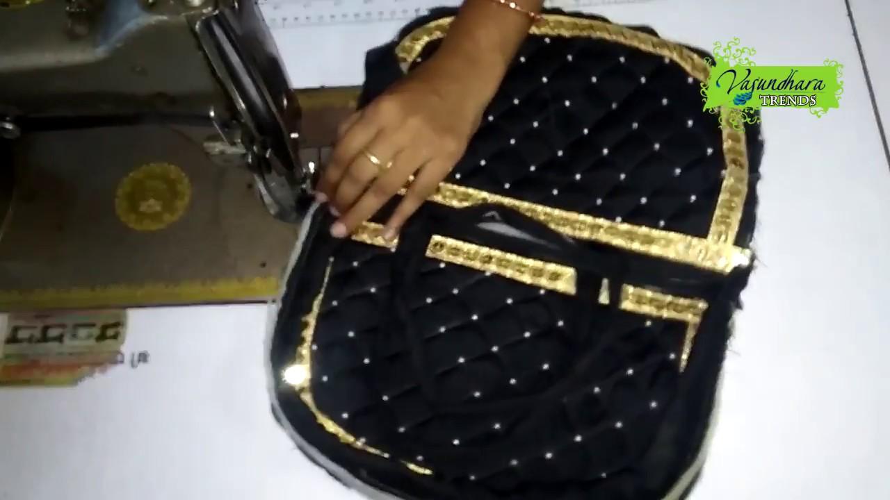How To Make Fabric Handbag At Home Purse Making Tutorial Ho