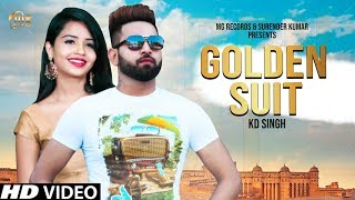 GOLDEN SUIT KD Singh | Heena Khan | New Song | MG Records Dj Song 2019 | Hit | MGR