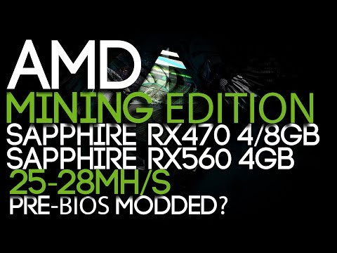AMD Releases Mining Edition GPUs, Sapphire RX 470 4/8GB Mining Editions