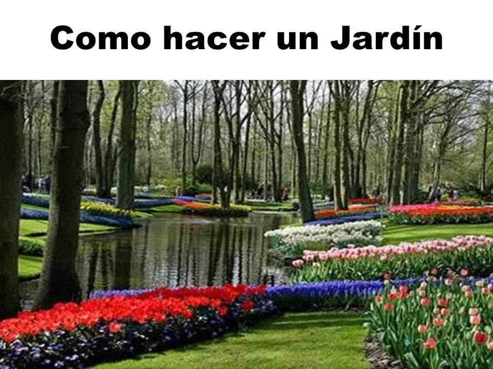 C mo hacer un jard n colores texturas en el suelo for Como hacer un lago en el jardin