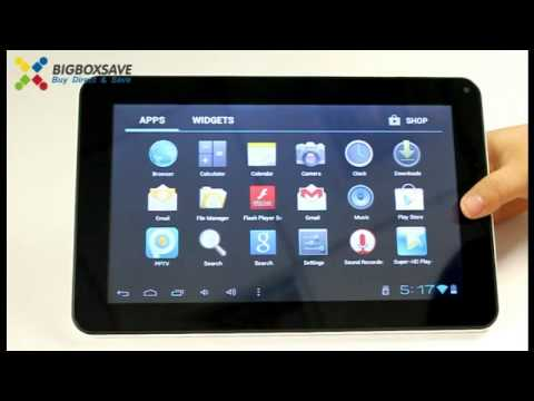 Amazing 9 Inch Google Android 4.0 Tablet