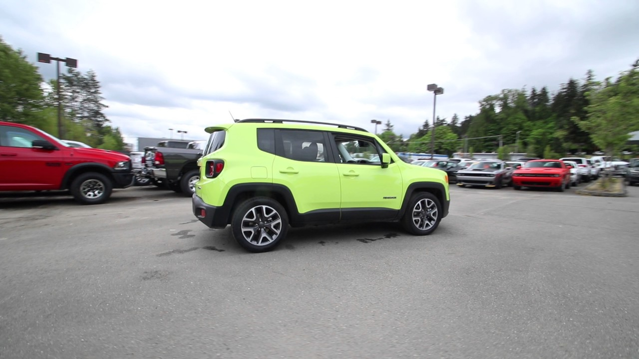 2017 Jeep Renegade Latitude Hypergreen Clearcoat