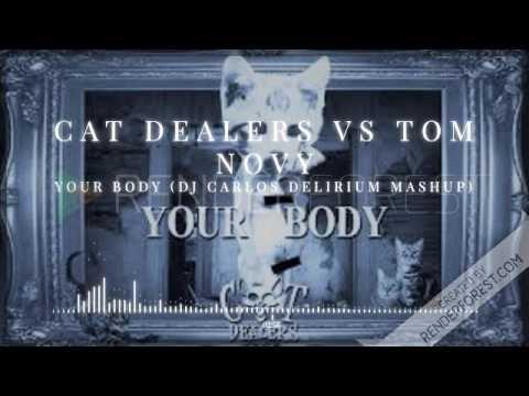 Cat Dealers vs Tom Novy - Your Body (DJ Carlos Delirium Mashup)