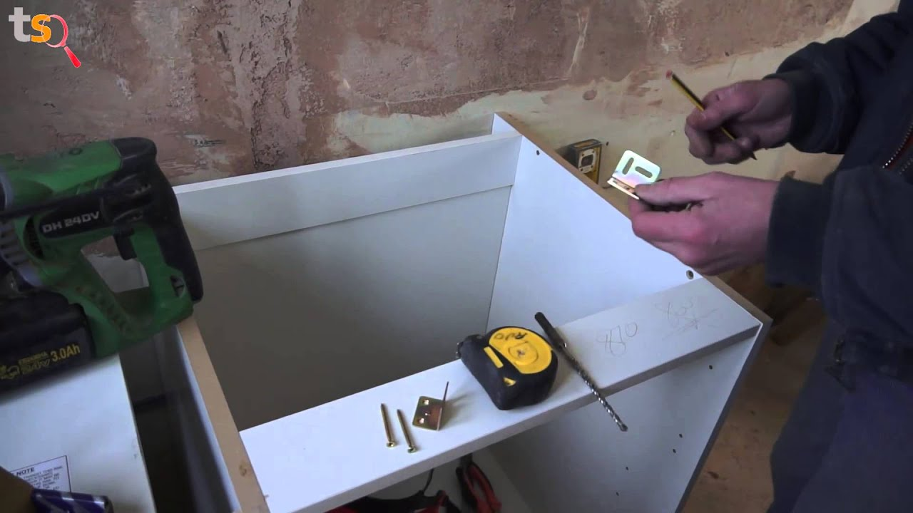 tommy's trade secrets - how to fit a kitchen - the base units - youtube