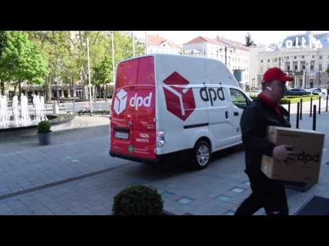 DPD using Voltia Maxi all-electric urban delivery van