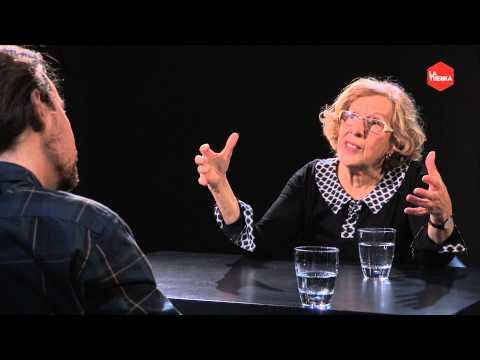 Otra vuelta de Tuerka - Pablo Iglesias con Manuela Carmena (Programa completo)