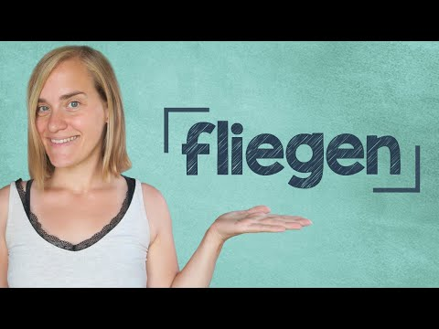 German Lesson (117) - Flying: Vocabulary, Useful Phrases And Listening Comprehension - A2-B2