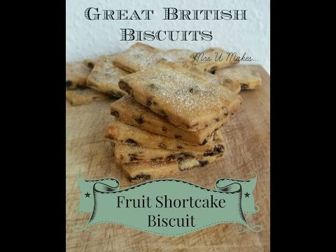 Mrs U Makes...Fruit Shortcake Biscuits