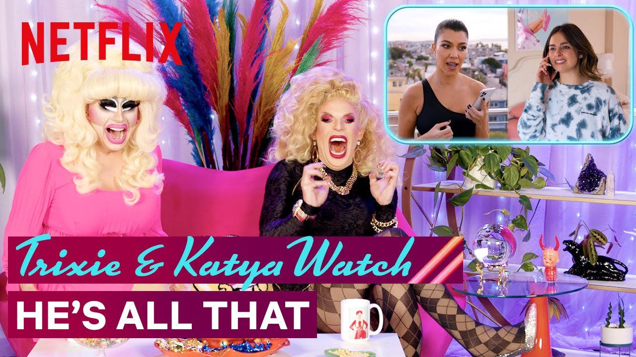 Download Drag Queens Trixie Mattel & Katya React to He's All That   I Like to Watch   Netflix