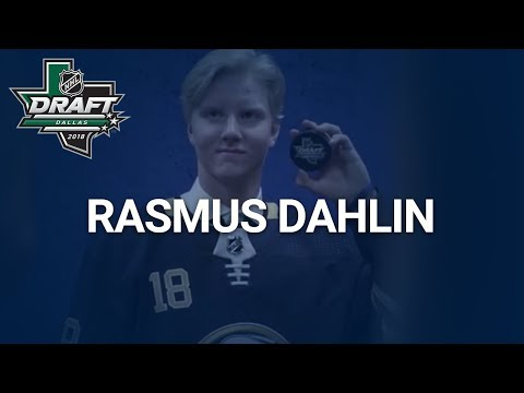 Rasmus Dahlin at 2018 NHL Draft | Buffalo Sabres