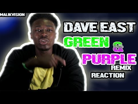 WE ALL KINGS Dave East ~ Only One King (Green & Purple Remix) ~ Reaction | MalikVISION