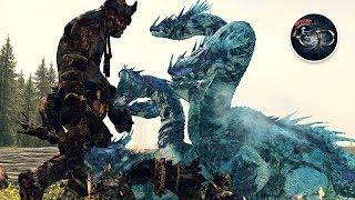 WARRIORS CHAOS GIANT VS HYDRA HIGH ELVES - EPIC CINEMATIC WARHAMMER MASSIVE BATTLE