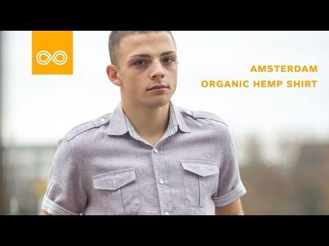 "Organic Hemp Shirt ""Amsterdam"" by Rawganique"