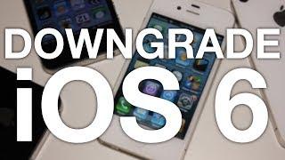 DOWNGRADE iPhone 4S & iPad 2 to iOS 6! (2018)