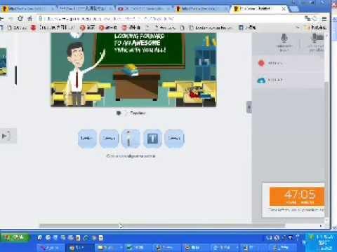 __動畫影片製作程式-PowToon下載與操作實況影片_選好動畫圖版後點按Edit按鈕進行下載loading然後線上操作創作 ...