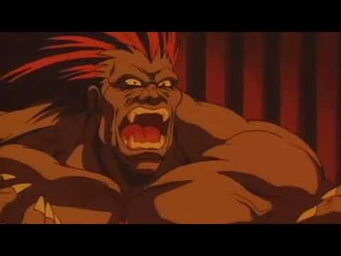 Zangief Vs Blanka Fight Scene Street Fighter Ii The Animated Movie 1994 Youtube