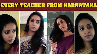 Every School Teacher From Karnataka | Troll Haiklu | #KannadaTeacher #TrollHaiklu
