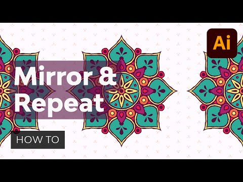 How to Mirror and Repeat Objects in Illustrator