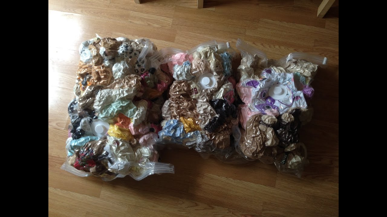Vacuum Packing Clothes Toys