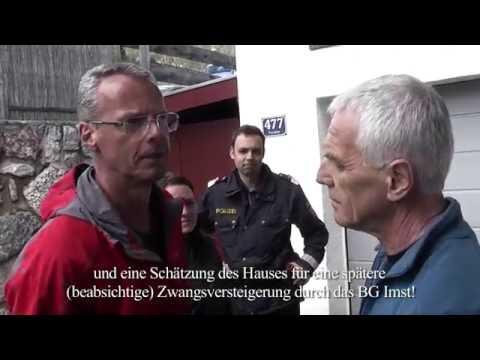Tirol: Egal, wie ungerecht seine Amtshandlung ist - ein Gerichtsvollzieher diskutiert nicht!