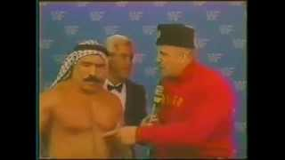 Hilarious Nikolai Volkoff-Iron Sheik WWF interview on cocaine