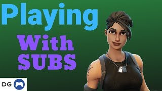 🔴 Fortnite With Subs | Code: dopeymiket23 | Fortnite Xbox LIVE Stream 335+ wins | ROAD TO 2000 SUBS