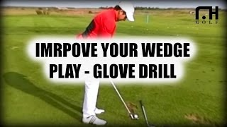 Golf Drill - Glove under the left arm from the David Leadbetter Golf Academy, Champions Gate