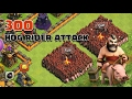 Clash of clans 300 Hogrider attack and 1 P E K K A COC movie revenge offical super bowl TV